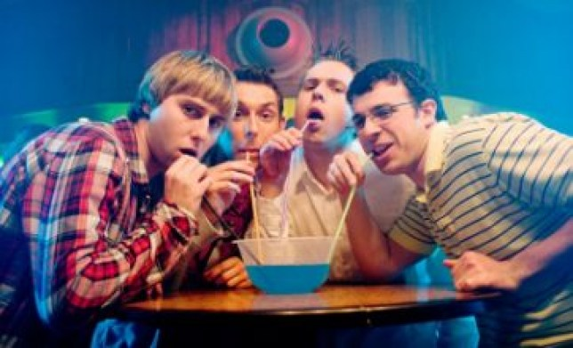 The Inbetweeners Movie was a huge hit at the box office (Picture: Film 4)
