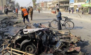 Baghdad blasts kill 60 as political crisis and US exit fuels tension