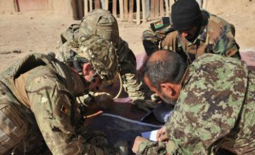 Bomb factory uncovered after joint operation in Afghanistan