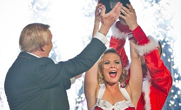 Charlie Brooks crowned Strictly Come Dancing Christmas champion