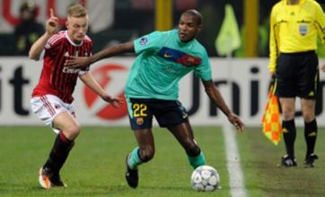 Eric Abidal 'courted by Liverpool and Manchester City'