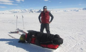 Mark Wood turns down New Year's Day party to continue Antarctic quest