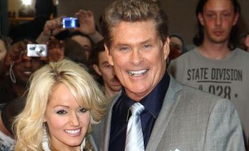 David Hasselhoff ropes in girlfriend to sell tickets for failing tour
