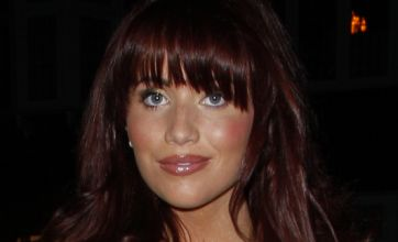 Amy Childs unveils new fringe as she asks Jodie Marsh for fitness advice