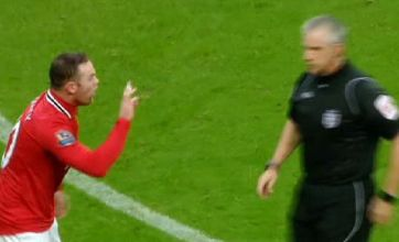 Wayne Rooney hits back at Roberto Mancini over Vincent Kompany red card