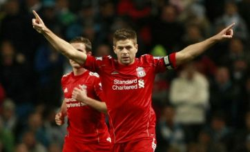 Steven Gerrard penalty helps Liverpool beat Manchester City 1-0