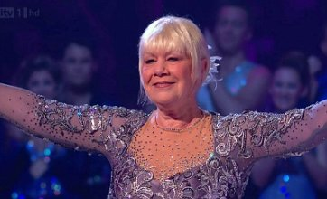 Laila Morse is second celeb voted off Dancing on Ice