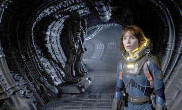 Prometheus new photo shows Noomi Rapace looking stunned