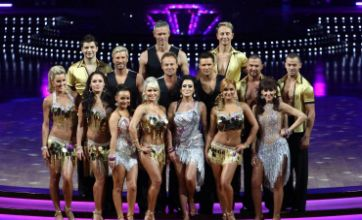 Strictly Come Dancing live tour 2012 kicks off with array of revealing outfits