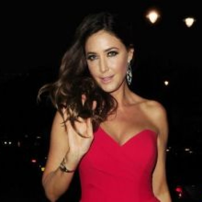 Lisa Snowdon talks about George Clooney in the sack (Picture: Xposurephotos.com)