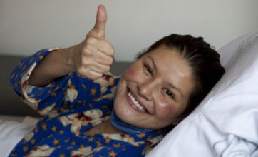 Woman whose transplant heart was dropped on floor leaves hospital