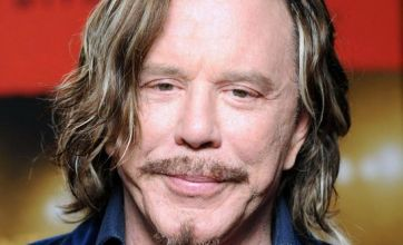 Mickey Rourke 'has plastic surgery' to play Gareth Thomas in biopic