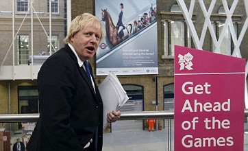 Boris Johnson promises smooth ride for Londoners during Olympics