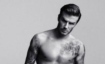 David Beckham beats Robert Pattinson to top hottest hunks poll