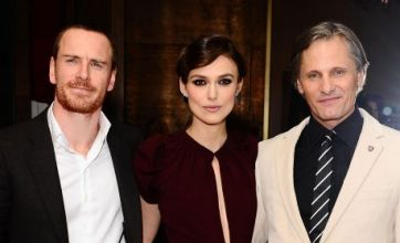 Keira Knightley steals the limelight at A Dangerous Method premiere