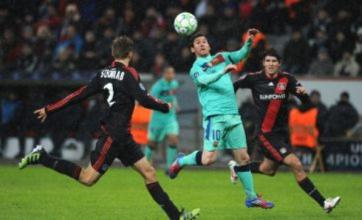 Bayer Leverkusen stars get dressing down over Leo Messi shirt swap fight