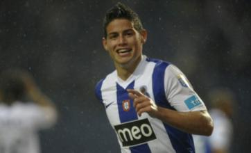 Manchester United eye 'South American Cristiano Ronaldo' James Rodriguez