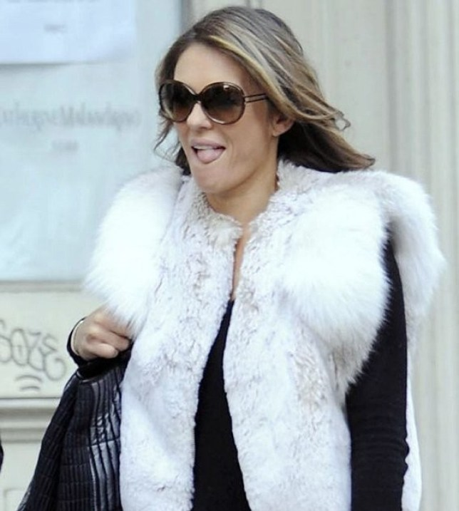 Elizabeth Hurley has denied an affair with Bill Clinton (Picture: Xposureonline)