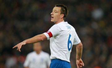 John Terry axed as England captain but FA won't force Euro 2012 omission