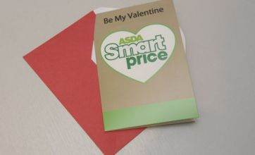 Asda launches bargain Valentine's Day Smart Price card costing just 7p