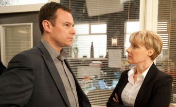 Coronation Street: Sally Webster confronts cheating Frank Foster