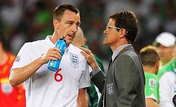 Fabio Capello to face showdown talks with FA over John Terry outburst
