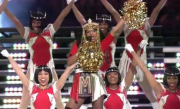 MIA 'incredibly sorry' for giving the finger at Madonna's Super Bowl gig
