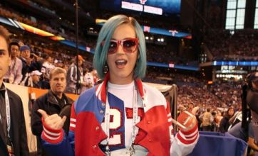 Katy Perry in Super Bowl inspired outfit: Dare to wear?