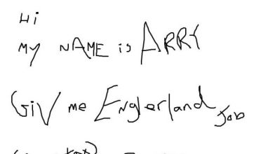 Harry Redknapp 'England job application' goes viral on Twitter