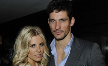 Mollie King and David Gandy announce break-up after nine months