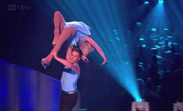 Jorgie Porter worried she will 'crash and burn' on Dancing On Ice