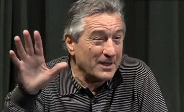 Robert De Niro walks out of interview after journalist calls him 'condescending'