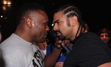 Dereck Chisora threatens to shoot David Haye after post-fight brawl