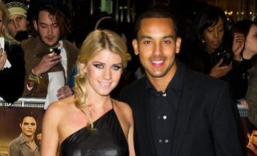 Theo Walcott and girlfriend Melanie Slade engaged after seven years