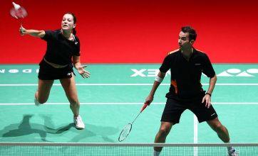 Nathan Robertson leads England to badminton glory