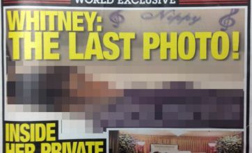 Photo of Whitney Houston lying dead in coffin published on magazine cover