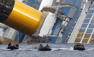 Costa Concordia: Eight more bodies found as death toll rises to 25
