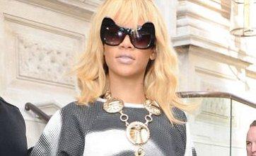 Rihanna wears Elizabeth Taylor top amid talk she plans 'to buy in London'