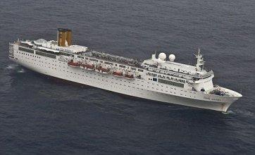 Costa Allegra passengers 'safe' as stricken ship towed to Seychelles
