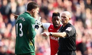 Mike Dean 'caught celebrating' Tottenham goal against Arsenal