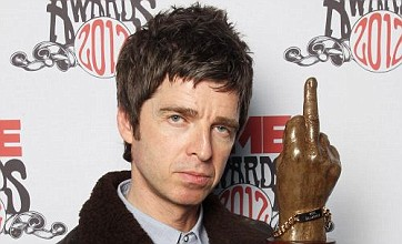 Noel Gallagher basks in 'God-like' status after picking up NME award