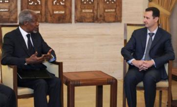 Kofi Annan in new talks with Bashar al-Assad as Syrian violence spreads