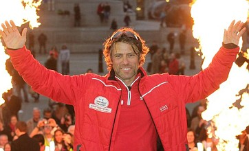 John Bishop completes 'week from hell' triathlon for Sport Relief