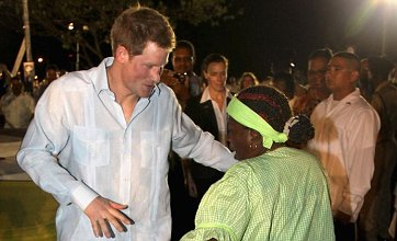 Prince Harry shows off his dance moves on royal tour of Belize