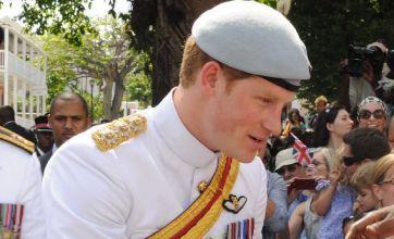 Prince Harry turns heads in Bahamas as he catches eye of beauty queen