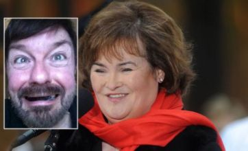 Susan Boyle slams 'wasted talent' Ricky Gervais over 'mong' comments
