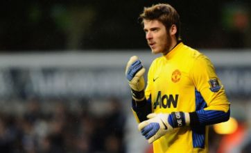 Man United's David De Gea: Spell on the bench just made me stronger