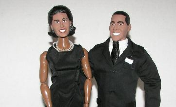 Barack Obama, Sarah Palin and Mitt Romney action figures launched
