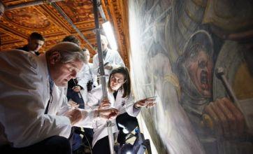 Leonardo Da Vinci 500-year-old fresco hidden behind wall of town hall