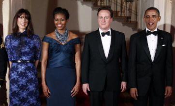 Barack Obama toasts David Cameron 'strength' at White House dinner